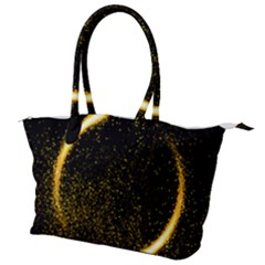 Cosmos Comet Dance, Digital Art Impression Canvas Shoulder Bag