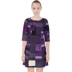 Hawkw Sharded Slab s Lib Rs Glitch Code Dress With Pockets by HoldensGlitchCode