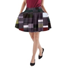 Tokio-rs Tokio s Registration-rs Glitch Code Aline Pocket Skirt by HoldensGlitchCode