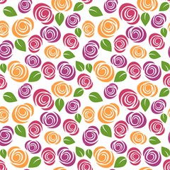 Cute Roses Fabric by TimelessDesigns