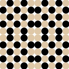 Dots Effect Almond Buff Fabric by TimelessDesigns