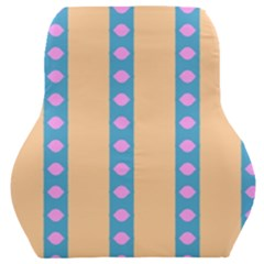 Pattern Background Car Seat Back Cushion