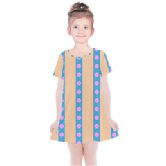 Pattern Background Kids  Simple Cotton Dress