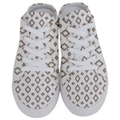 Background Texture Triangle Half Slippers