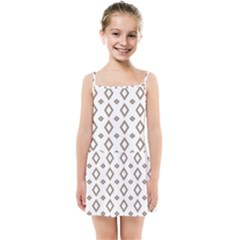 Background Texture Triangle Kids  Summer Sun Dress