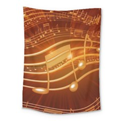 Music Notes Sound Musical Love Medium Tapestry