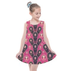 Background Abstract Pattern Kids  Summer Dress