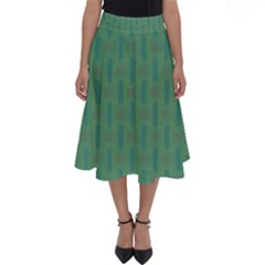 Pattern Background Blure Perfect Length Midi Skirt by HermanTelo