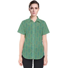 Pattern Background Blure Women s Short Sleeve Shirt by HermanTelo