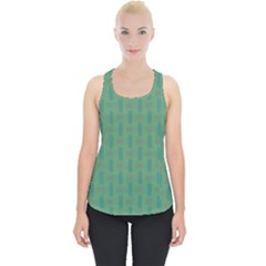 Pattern Background Blure Piece Up Tank Top