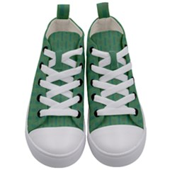 Pattern Background Blure Kids  Mid-top Canvas Sneakers