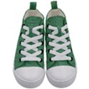 Pattern Background Blure Kids  Mid-Top Canvas Sneakers View1