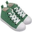 Pattern Background Blure Kids  Mid-Top Canvas Sneakers View3