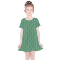 Pattern Background Blure Kids  Simple Cotton Dress by HermanTelo