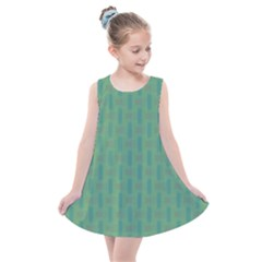 Pattern Background Blure Kids  Summer Dress