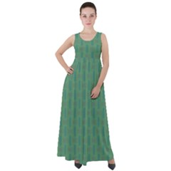 Pattern Background Blure Empire Waist Velour Maxi Dress by HermanTelo