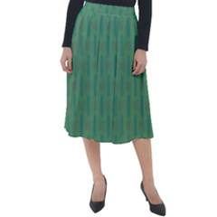 Pattern Background Blure Classic Velour Midi Skirt  by HermanTelo