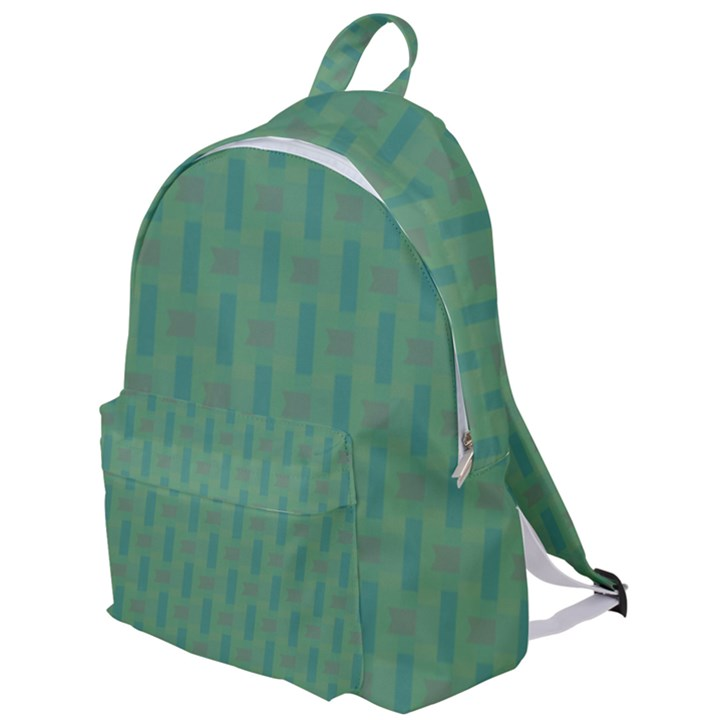 Pattern Background Blure The Plain Backpack