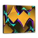 Geometric Gradient Psychedelic Deluxe Canvas 24  x 20  (Stretched) View1