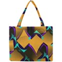 Geometric Gradient Psychedelic Mini Tote Bag View1