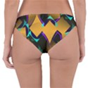 Geometric Gradient Psychedelic Reversible Hipster Bikini Bottoms View4
