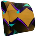 Geometric Gradient Psychedelic Seat Cushion View2