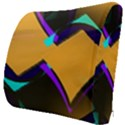 Geometric Gradient Psychedelic Seat Cushion View3