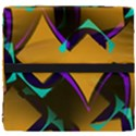 Geometric Gradient Psychedelic Seat Cushion View4