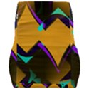 Geometric Gradient Psychedelic Car Seat Back Cushion  View2