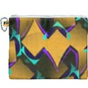 Geometric Gradient Psychedelic Canvas Cosmetic Bag (XXXL) View1