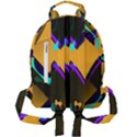 Geometric Gradient Psychedelic Mini Full Print Backpack View2
