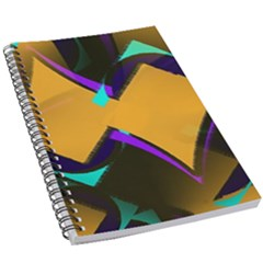 Geometric Gradient Psychedelic 5 5  X 8 5  Notebook
