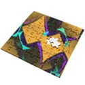 Geometric Gradient Psychedelic Wooden Puzzle Square View2