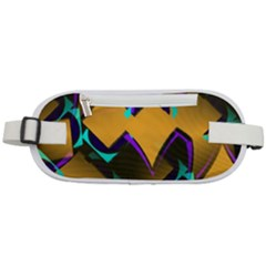 Geometric Gradient Psychedelic Rounded Waist Pouch