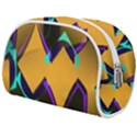Geometric Gradient Psychedelic Makeup Case (Medium) View2