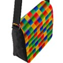 Background Colorful Abstract Flap Closure Messenger Bag (L) View2