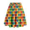 Background Colorful Abstract High Waist Skirt View1