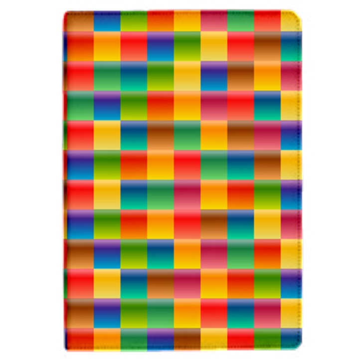 Background Colorful Abstract Apple iPad Mini 4 Flip Case