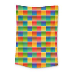Background Colorful Abstract Small Tapestry
