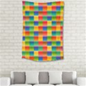 Background Colorful Abstract Small Tapestry View2