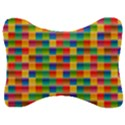 Background Colorful Abstract Velour Seat Head Rest Cushion View1