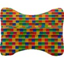 Background Colorful Abstract Velour Seat Head Rest Cushion View2