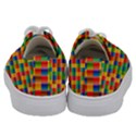 Background Colorful Abstract Kids  Low Top Canvas Sneakers View4