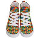 Background Colorful Abstract Kids  Hi-Top Skate Sneakers View1