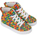 Background Colorful Abstract Kids  Hi-Top Skate Sneakers View3