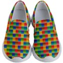 Background Colorful Abstract Kids  Lightweight Slip Ons View1