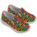 Background Colorful Abstract Kids  Lightweight Slip Ons View3