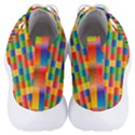 Background Colorful Abstract Men s Lightweight High Top Sneakers View4