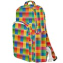 Background Colorful Abstract Double Compartment Backpack View1