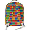 Background Colorful Abstract Double Compartment Backpack View3